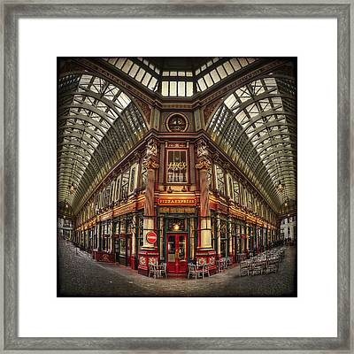 Split Indecision Framed Print