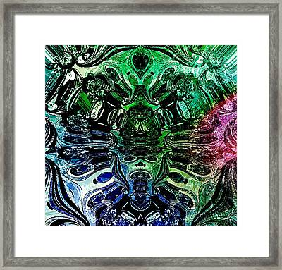 Split Personality Framed Print by Robert Happersberg