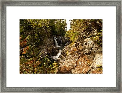 Split Rock Falls  Framed Print