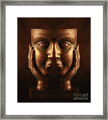 Spliting Headache Framed Print by Inspired Nature Photography Fine Art Photography
