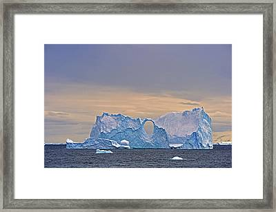 Splitting Framed Print by Tony Beck