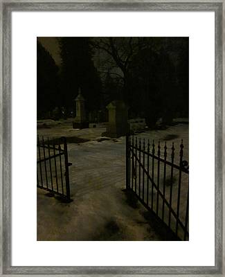 Spoils Of The Dead Framed Print by Guy Ricketts
