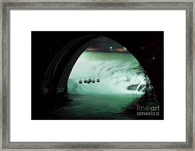 Spokane Falls Framed Print