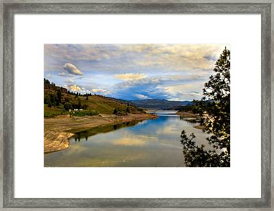 Spokane River Framed Print