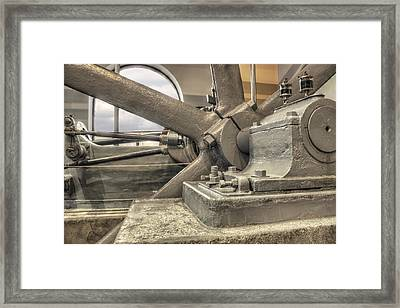 Spokes Of Electricity Framed Print