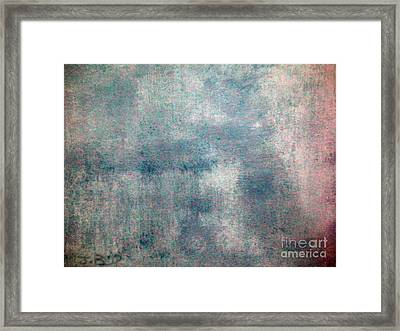 Sponged Framed Print