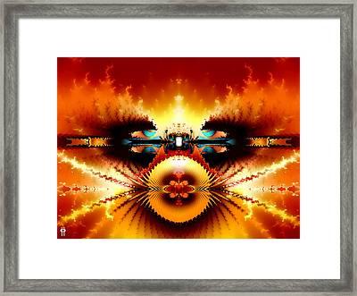 Starship Hades Nc 666 Framed Print