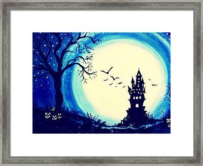 Spook House Framed Print by Nickie Bradley