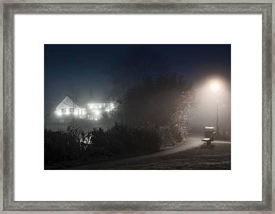 Spook Framed Print