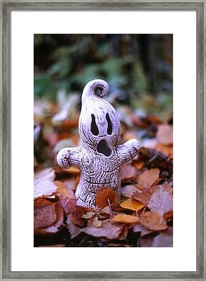 Spooky Autumn Framed Print by Aaron Aldrich