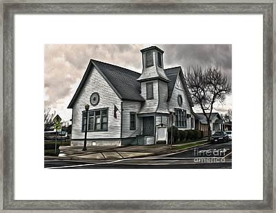 Spooky Church Framed Print by Gregory Dyer