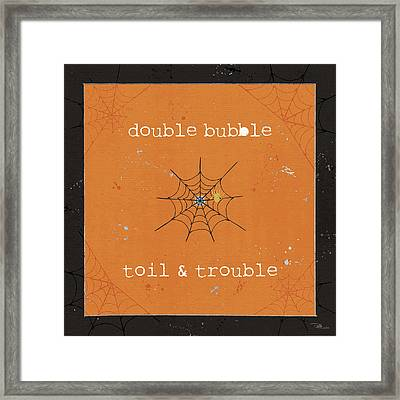 Spooky Cuties I Framed Print by Pela Studio