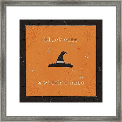 Spooky Cuties II Framed Print by Pela Studio