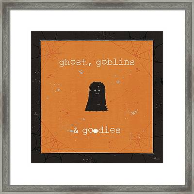 Spooky Cuties IIi Framed Print by Pela Studio
