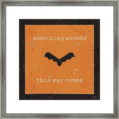 Spooky Cuties Iv Framed Print by Pela Studio