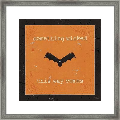 Spooky Cuties Iv Framed Print by Pela Studio