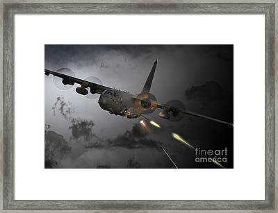 'spooky' Framed Print by J Biggadike