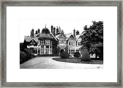 Spooky Mansion Framed Print by Maciek Froncisz