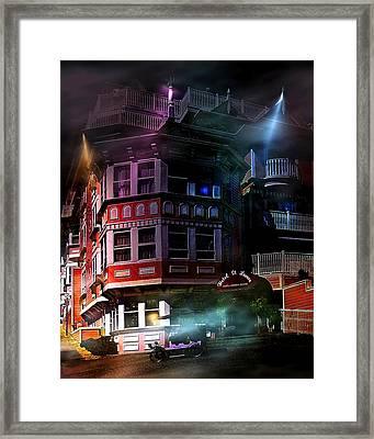 Spooky Framed Print by Wayne Wood