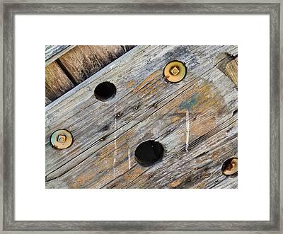 Spool Framed Print by Nick Kirby