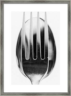 Spoon Me Framed Print by Wade Brooks
