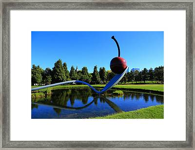 Spoonbridge And Cherry 3 Framed Print by Rachel Cohen
