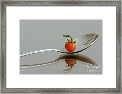 Spoonful Of Vitamin Framed Print by Jonathan Nguyen