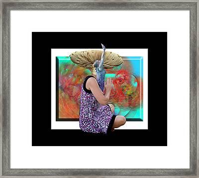 Spore Framed Print by Betsy Knapp