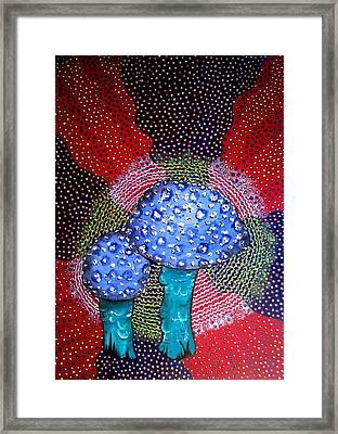 Spores Framed Print