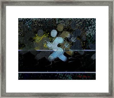 Sport B 10 Framed Print