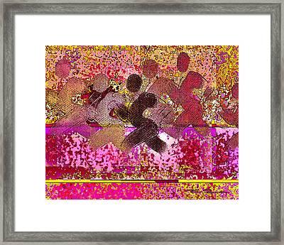 Sport B 4 B Framed Print by Theo Danella