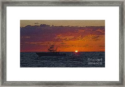 Sport Fisher Framed Print