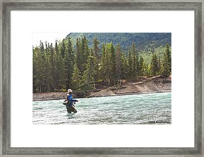 Sport Fishing Framed Print by Chris Heitstuman