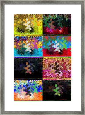 Sport Octo  Framed Print by Theo Danella