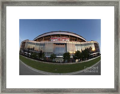 Sports Authority Field At Mile High Framed Print
