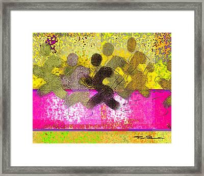 Sports B 2 Framed Print by Theo Danella