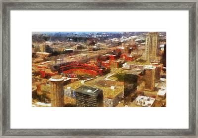 Sports Busch Stadium 03 Photo Art Framed Print