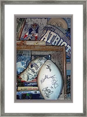 Sports Fan Framed Print by Jack Gannon