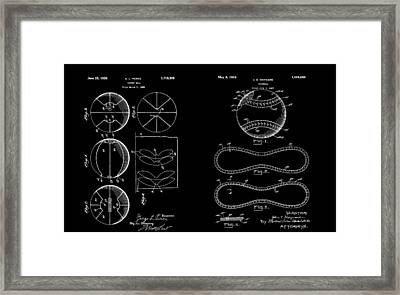 Sports Fanatic Patent Framed Print by Dan Sproul