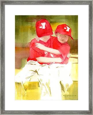 Sports Framed Print by Margo Schwirian