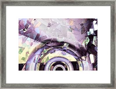 Spotlight Framed Print by Kjirsten Collier