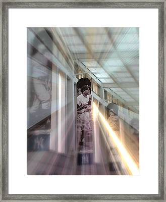 Spotlight On Yogi Framed Print