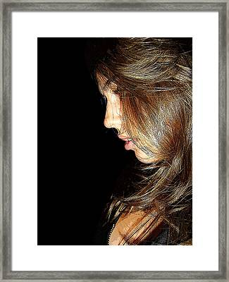 Framed Print featuring the photograph Spotlight by Zinvolle Art