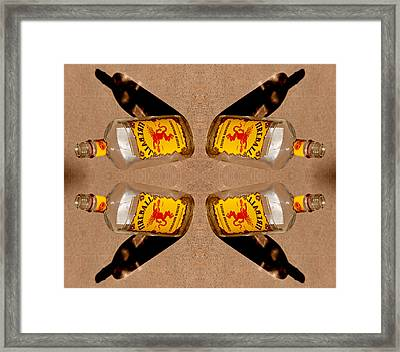 Spots Of Whiskey Axis 2013 Framed Print by James Warren