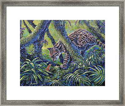Spotted Framed Print by Gail Butler