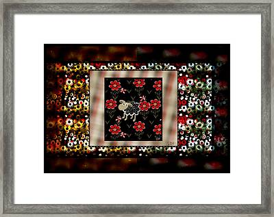 Spotted Framed Print by Sherry Flaker
