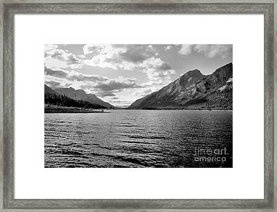 Spray Lake Framed Print