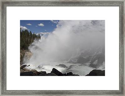 Spray Framed Print by Shelley Ewer