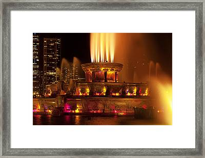 Spraying Water Framed Print by Andrew Soundarajan