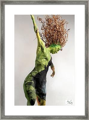 Spread Wings Framed Print by Adam Long
